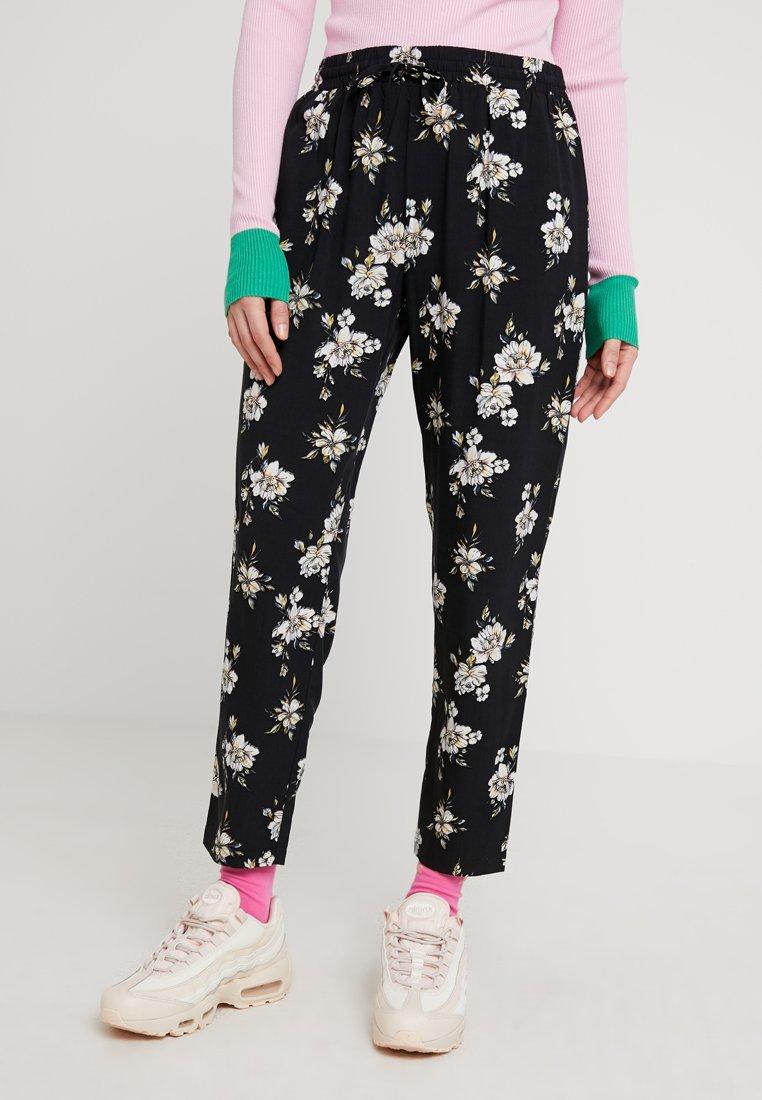 Even&Odd - Trousers - rose/black