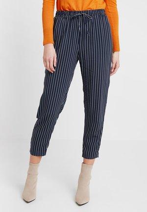 Pantalon classique - navy/white