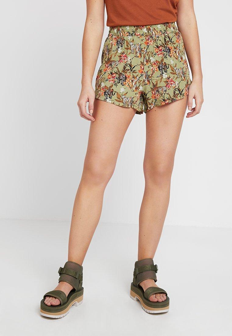 Even&Odd - Shorts - dark brown/black