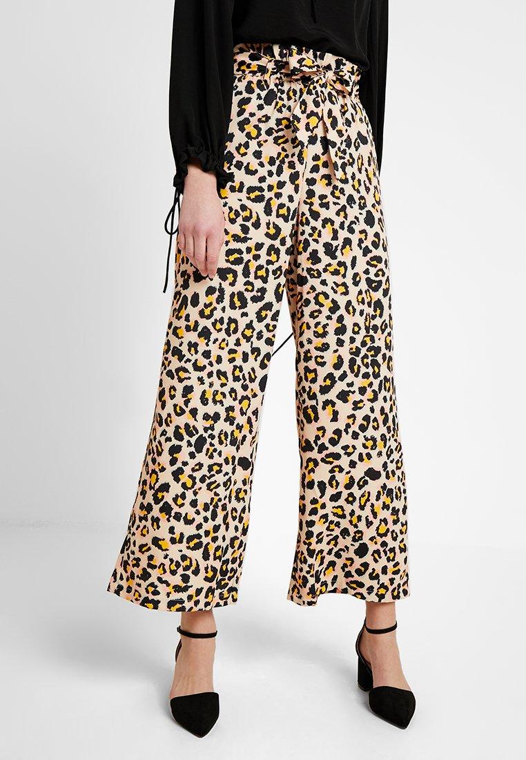 Even&Odd - Pantaloni - light brown/black