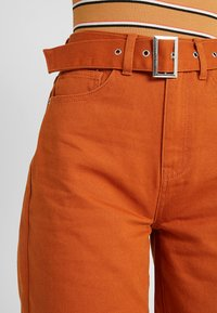 Even&Odd - Flared Jeans - light brown - 5