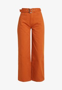 Even&Odd - Flared Jeans - light brown - 4