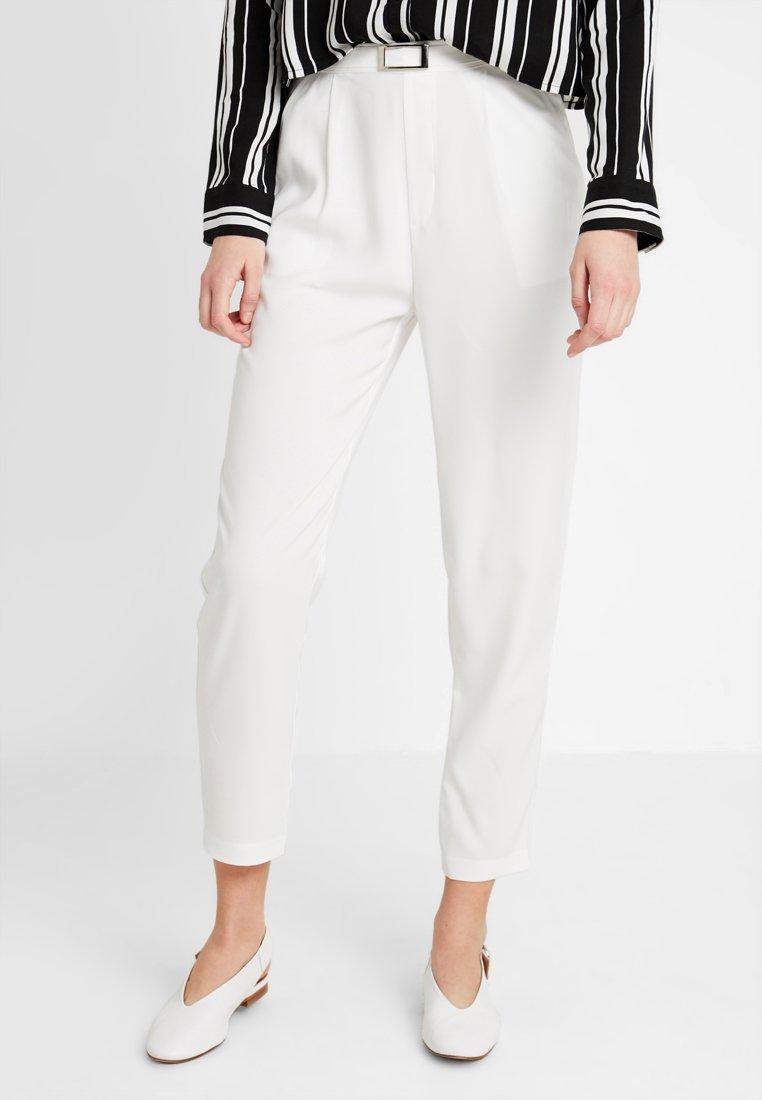 Even&Odd - Trousers - white