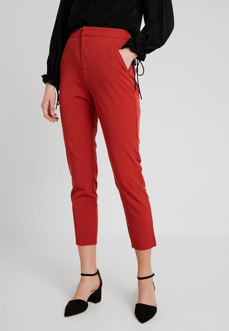 Even&Odd - Pantalones - rusty red as proto
