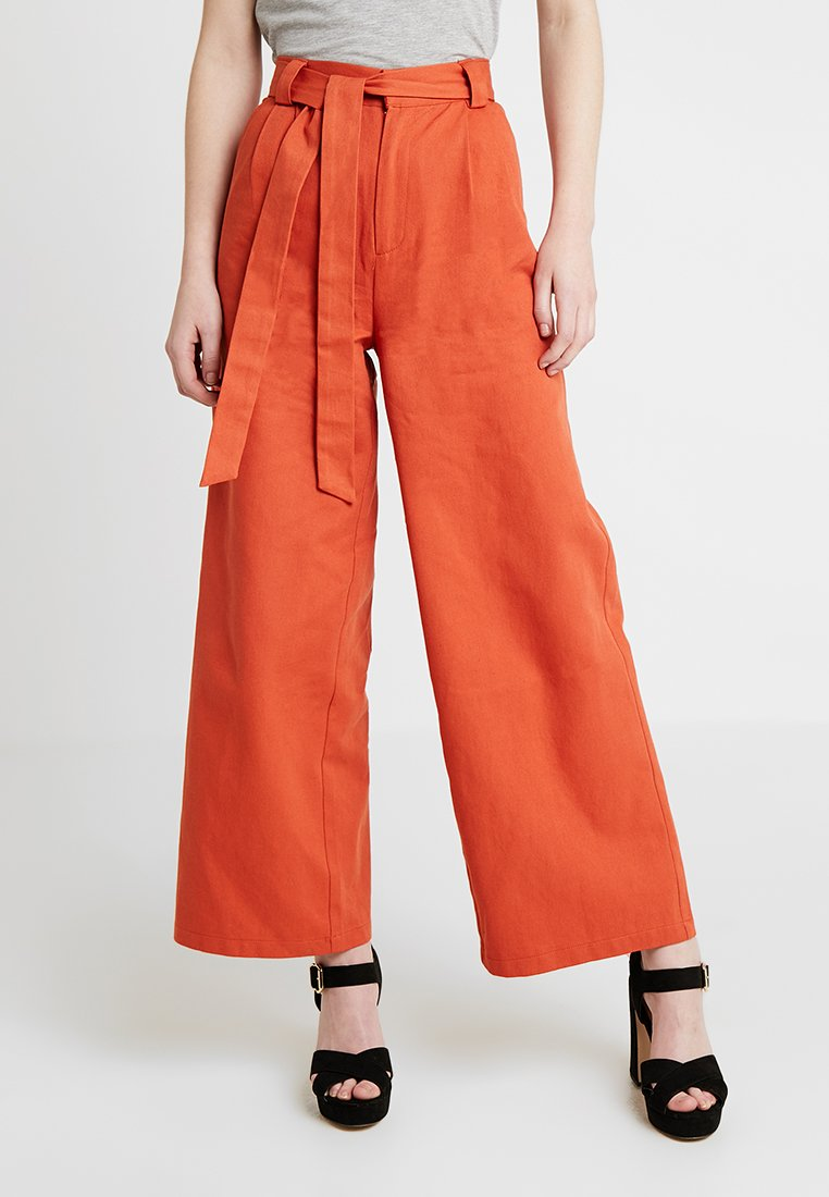 Even&Odd - Flared Jeans -  orange