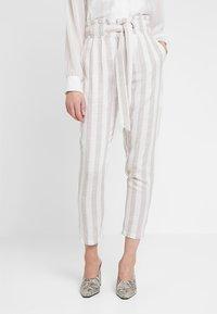Even&Odd - Kalhoty - beige/white - 0