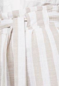 Even&Odd - Kalhoty - beige/white - 3