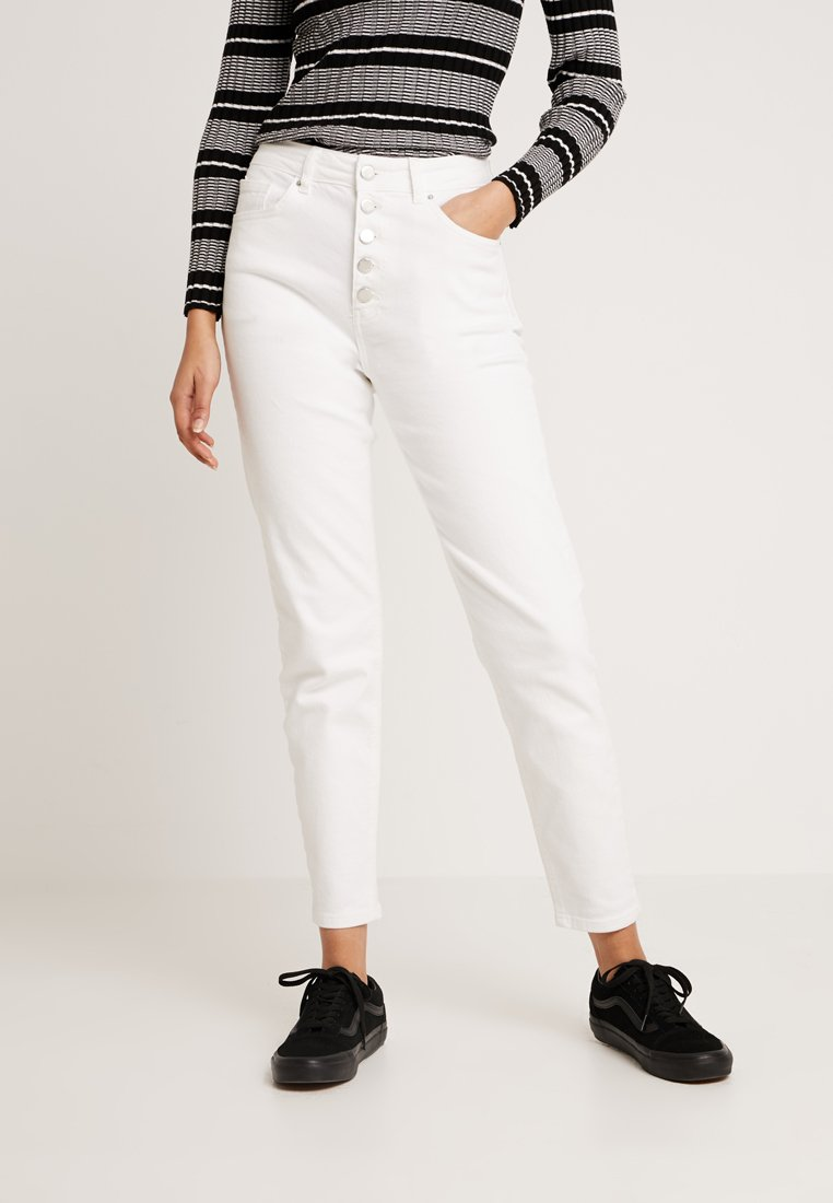 Even&Odd - Relaxed fit jeans - off white