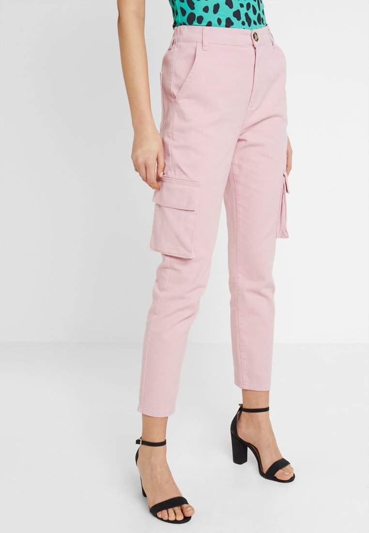 Even&Odd - Cargo trousers - mauve