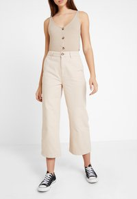 Even&Odd - Jeans Relaxed Fit - sand - 0