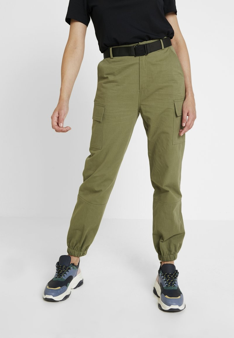 Even&Odd - Trousers - khaki