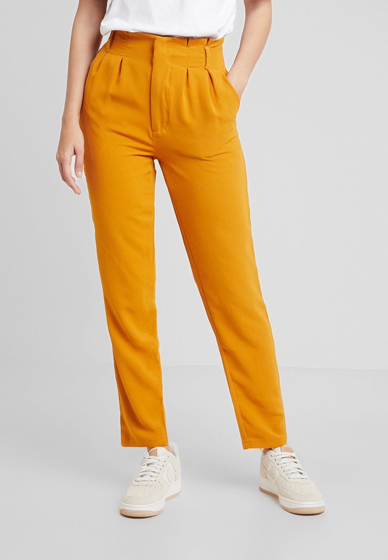 Even&Odd - Trousers - mustard