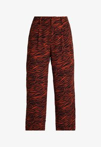 Even&Odd - Trousers - brown/black - 3