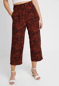Even&Odd - Trousers - brown/black - 0