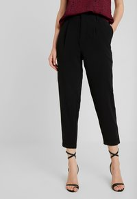 Even&Odd - Broek - black - 0