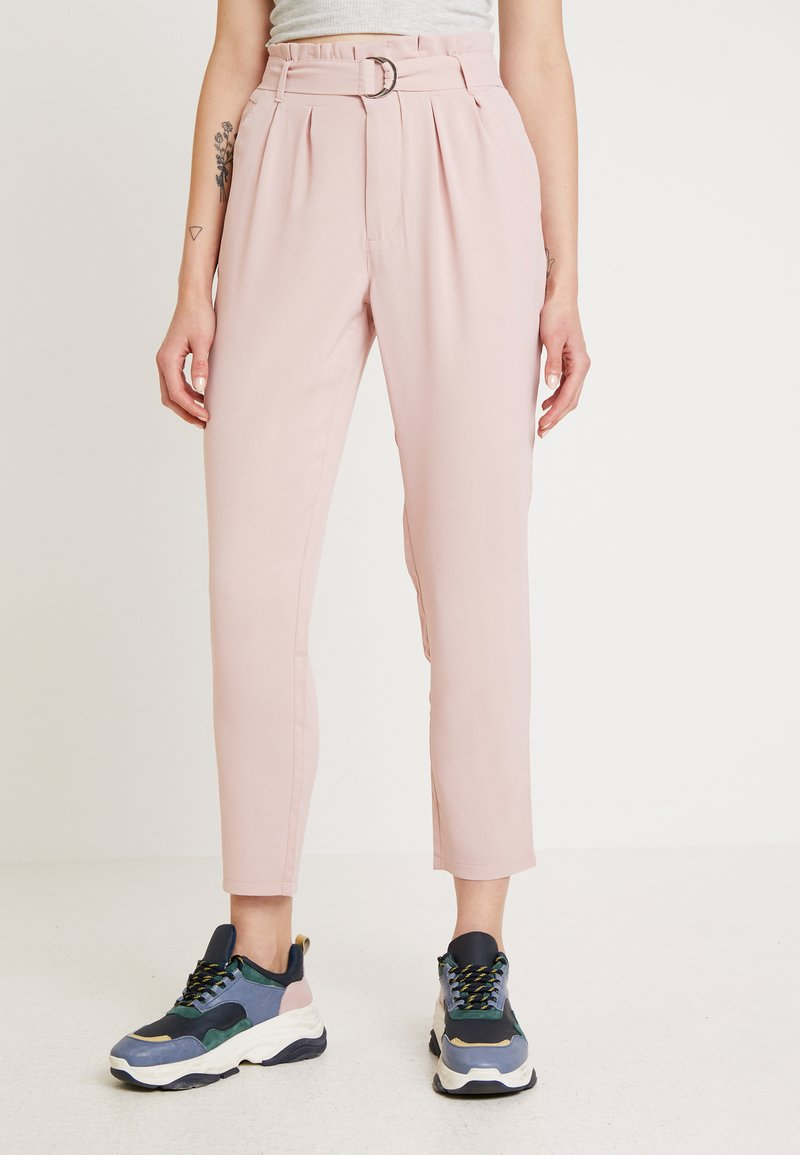 Even&Odd - Trousers -  rose