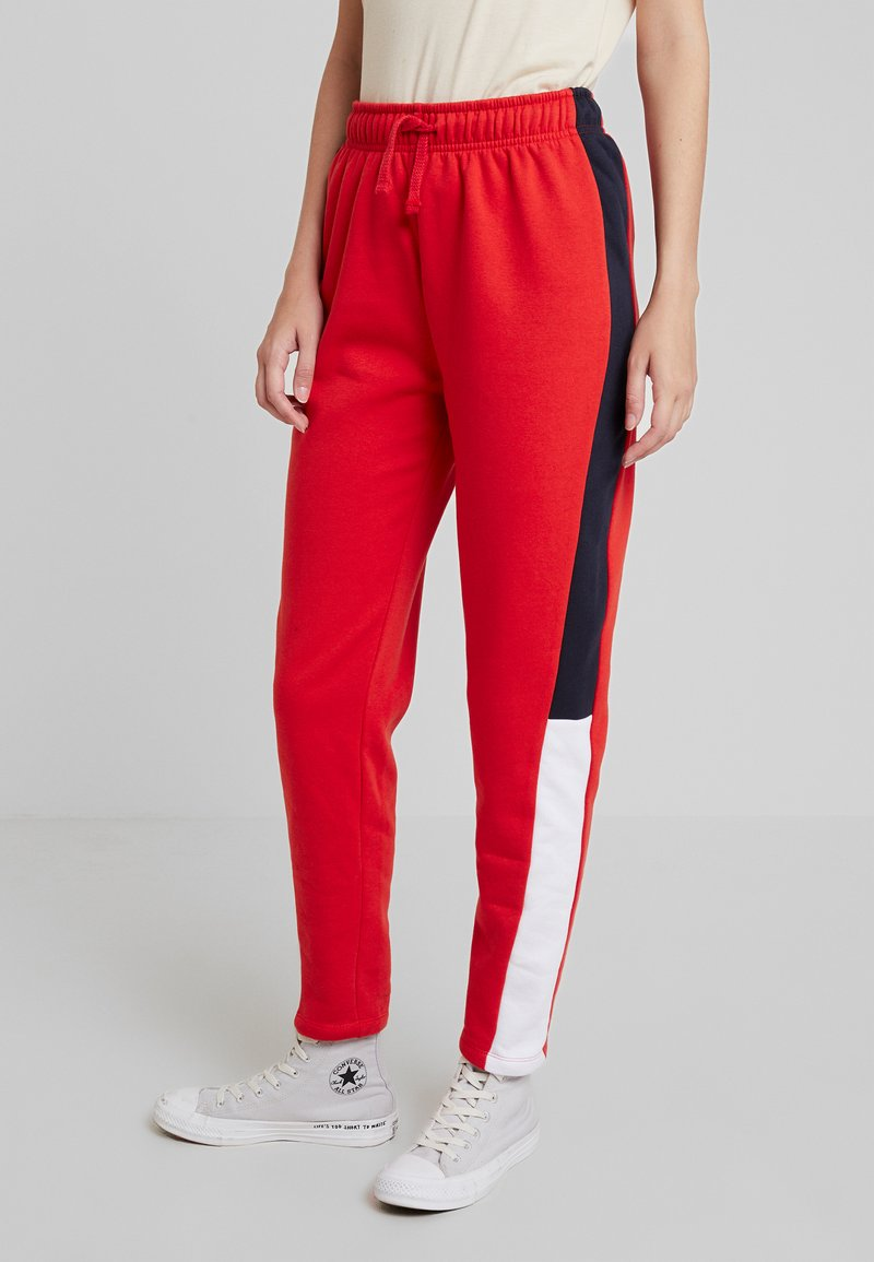 Even&Odd - Tracksuit bottoms - red
