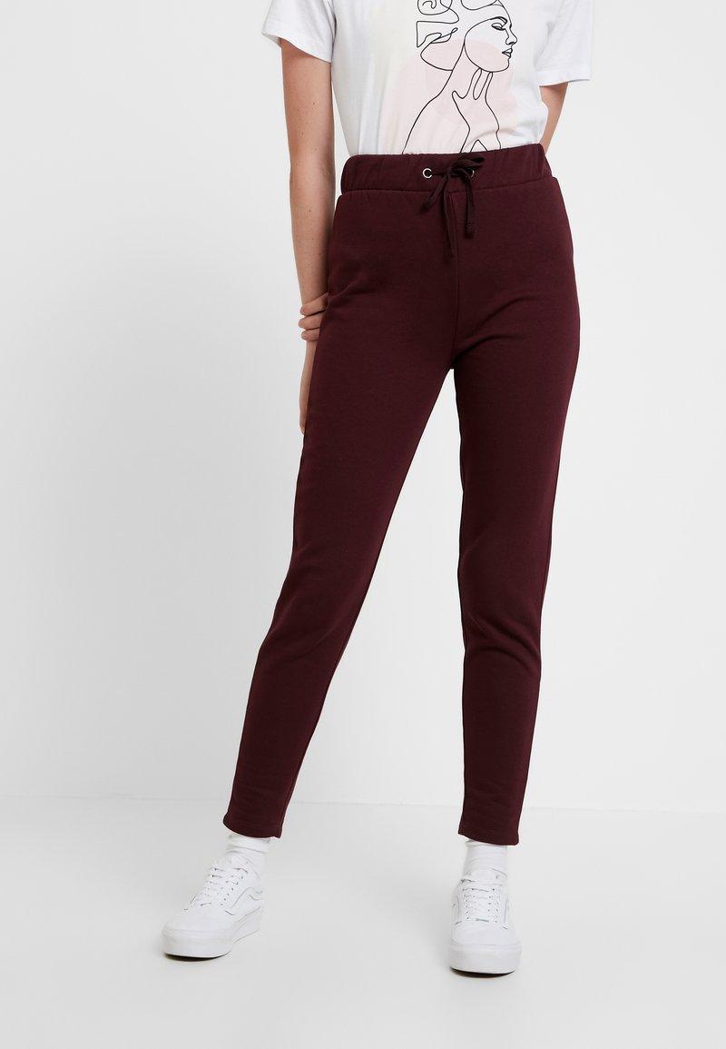 Even&Odd - Pantaloni sportivi - burgundy