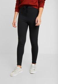 Even&Odd - Pantaloni sportivi - black - 0