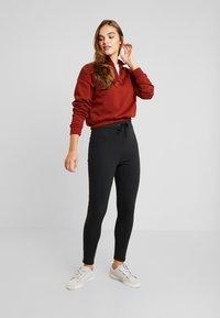Even&Odd - Pantaloni sportivi - black - 1