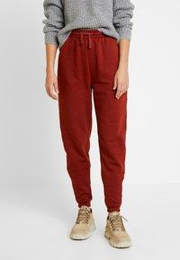 Even&Odd - Pantalon de survêtement - chocolate - 0