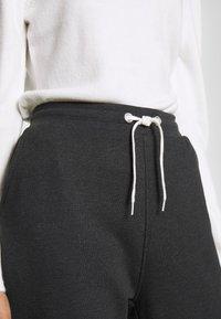 Even&Odd - Teplákové kalhoty - dark grey mélange - 3
