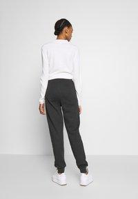 Even&Odd - Teplákové kalhoty - dark grey mélange - 2