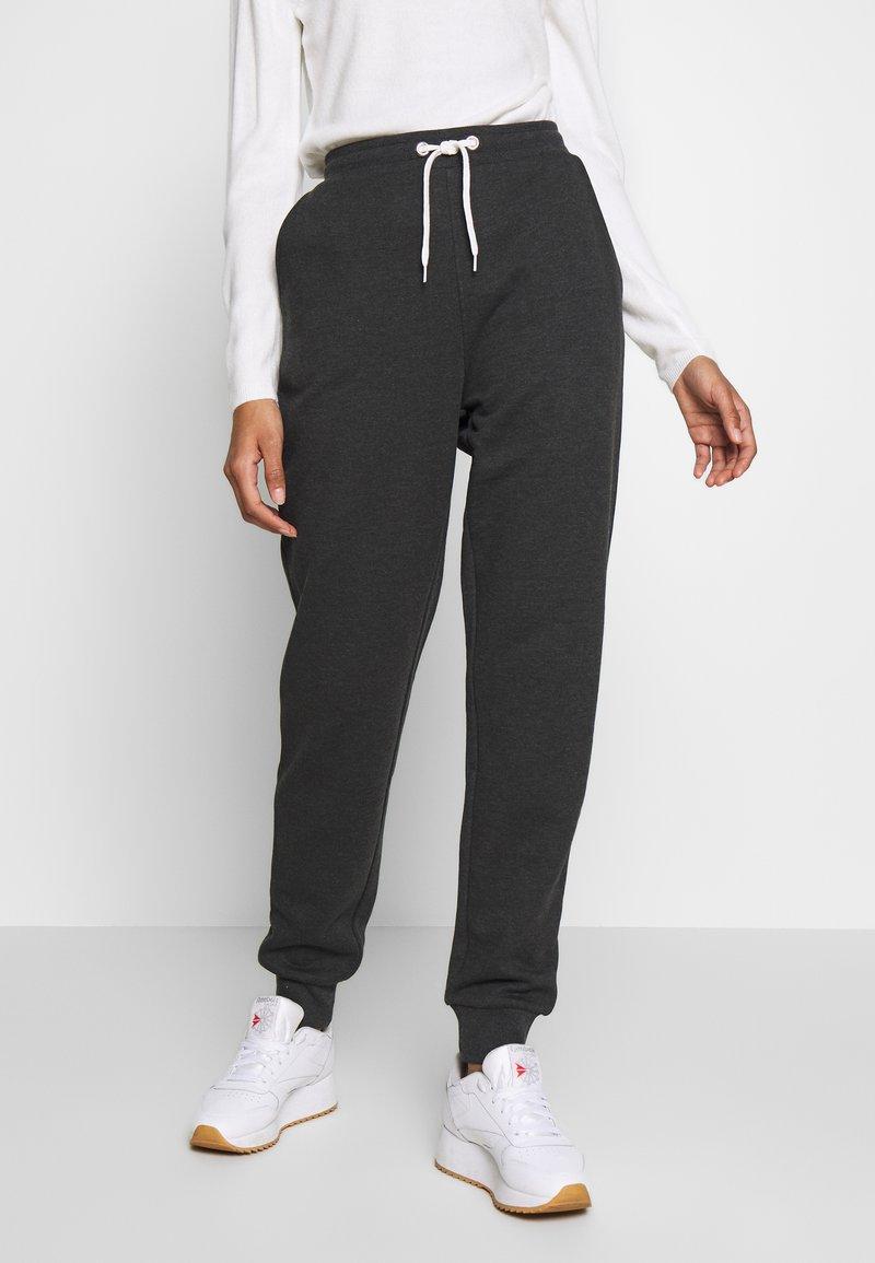 Even&Odd - Teplákové kalhoty - dark grey mélange
