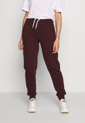 Pantalon de survêtement - dark red