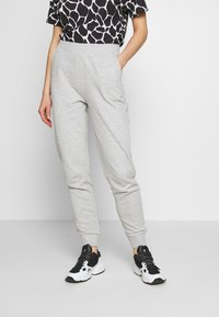 Even&Odd - 2 PACK - Pantalon de survêtement - black/light grey - 3