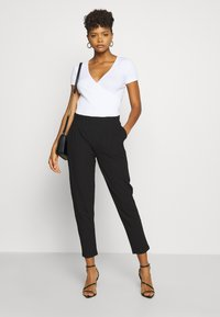 Even&Odd - Casual Trousers - Trousers - black - 1