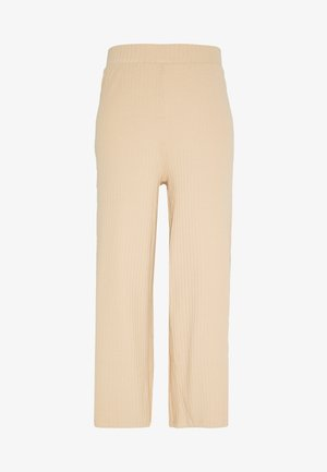 WIDE PANTS  - Bukse - cuban sand