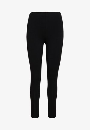 Leggings - Trousers - black/white