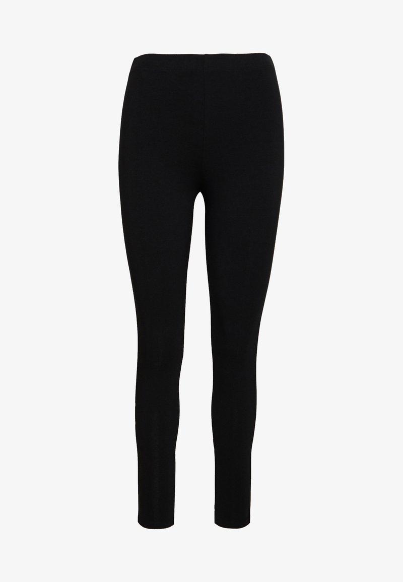 Even&Odd - Leggings - black/white