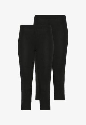 2 PACK CAPRI LEGGINGS  - Leggings - black