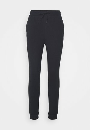 BASIC - Slim Fit Joggers - Pantalones deportivos - black