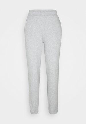 BASIC REGULAR FIT JOGGERS - Joggebukse - mottled light grey