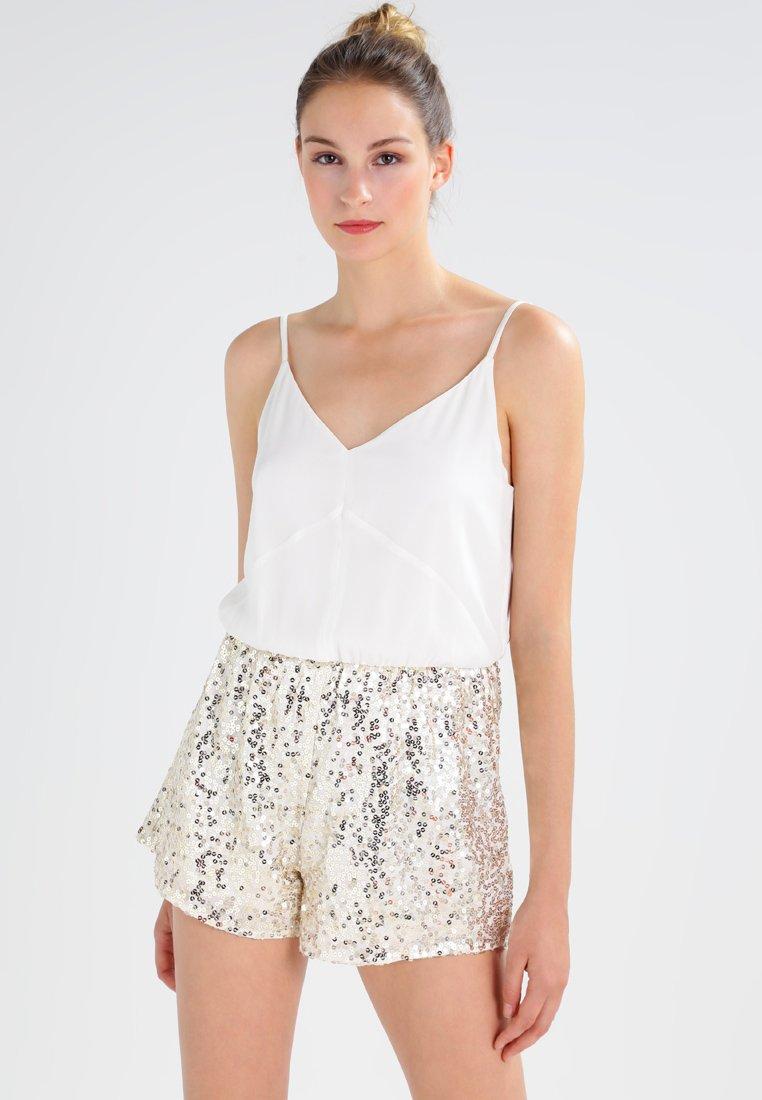 Even&Odd - Jumpsuit - white/gold