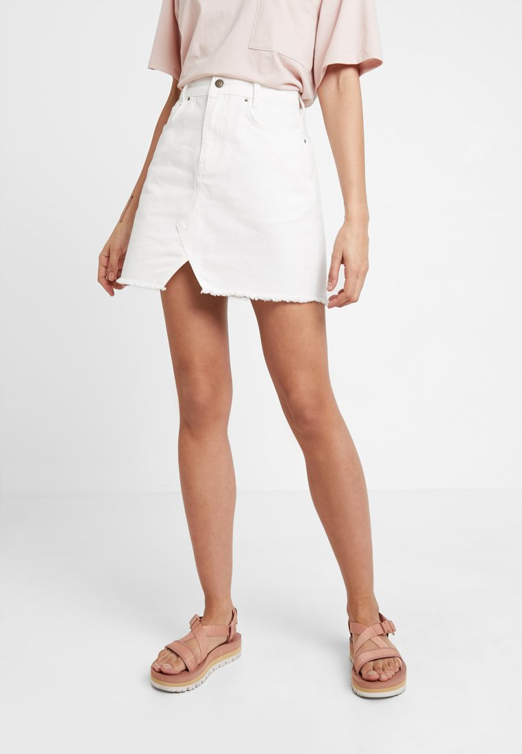 Even&Odd - A-line skirt - white