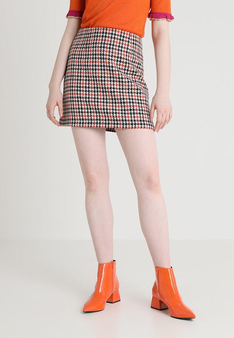 Even&Odd - A-Linien-Rock - orange/black