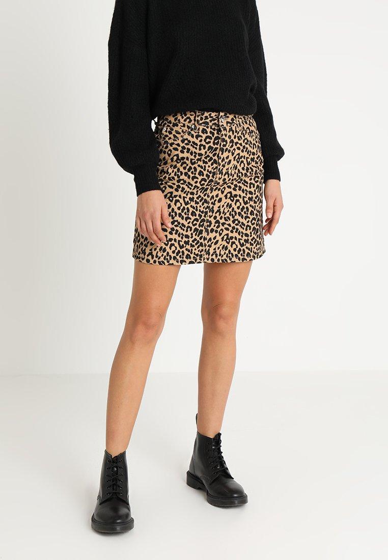 Even&Odd - A-line skirt - beige