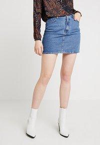 Even&Odd - Spódnica jeansowa - light blue - 0