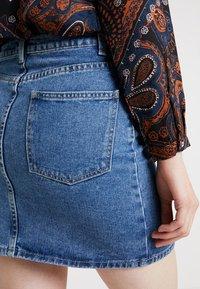 Even&Odd - Spódnica jeansowa - light blue - 5