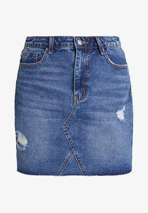 Denim skirt - mid blue denim