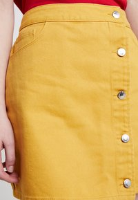 Even&Odd - A-lijn rok - yellow - 4