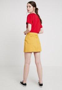 Even&Odd - A-lijn rok - yellow - 2