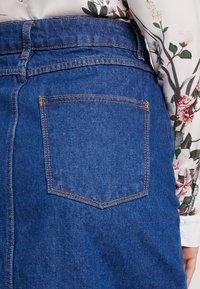 Even&Odd - Pouzdrová sukně -  blue denim - 5