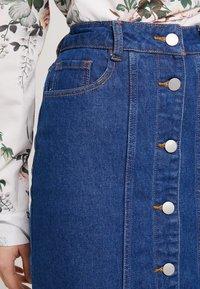 Even&Odd - Pouzdrová sukně -  blue denim - 3