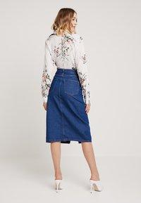 Even&Odd - Pouzdrová sukně -  blue denim - 2