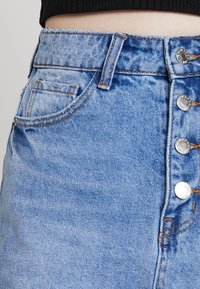 Even&Odd - Áčková sukně - blue denim - 5